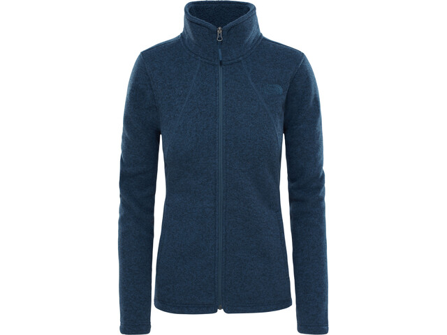 The North Face Crescent Full Zip Fleece Jacket Dam ink blue hthr